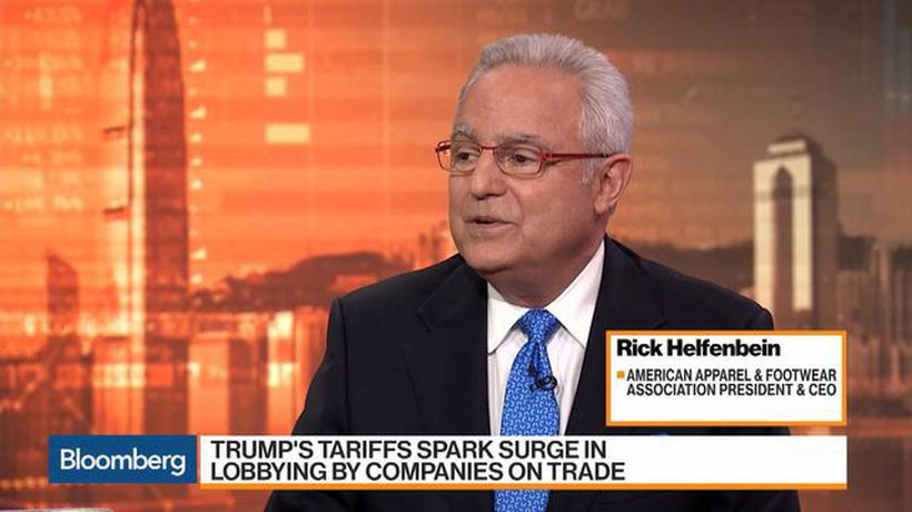 Bloomberg Markets: Asia - American Apparel & Footwear Association Has 'Big Worries' About Trump Tariffs