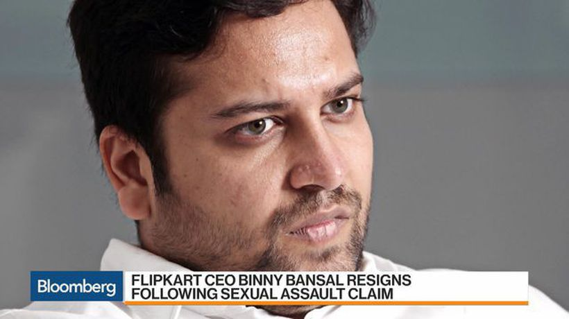 Bloomberg Markets: Asia - Flipkart CEO Resigns After Unverified Sexual Assault Claim