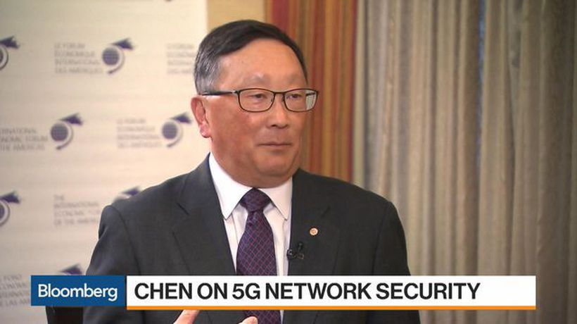 Bloomberg Markets - Blackberry Could Help Secure Data With 5G Networks, CEO Chen Says