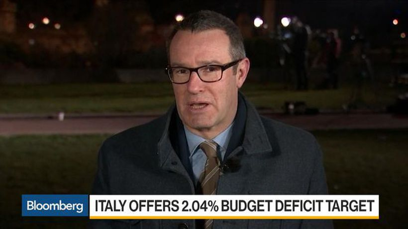 Bloomberg Daybreak: Europe - Italy Offers 2.04% Budget Deficit Target