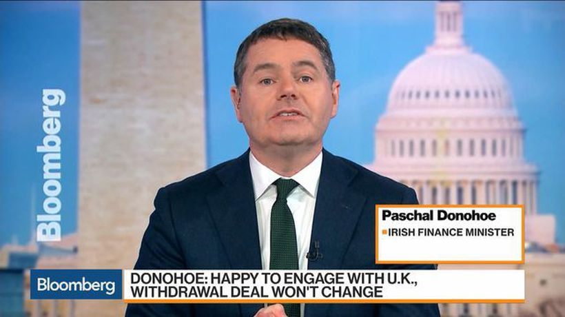 Bloomberg Markets: European Close - Irish Finance Min. Says Brexit Deal Can Be Reached