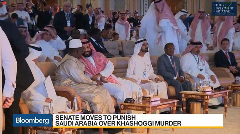 Bloomberg Daybreak: Australia - U.S. Senate Moves to Punish Saudi Arabia Over Khashoggi Murder