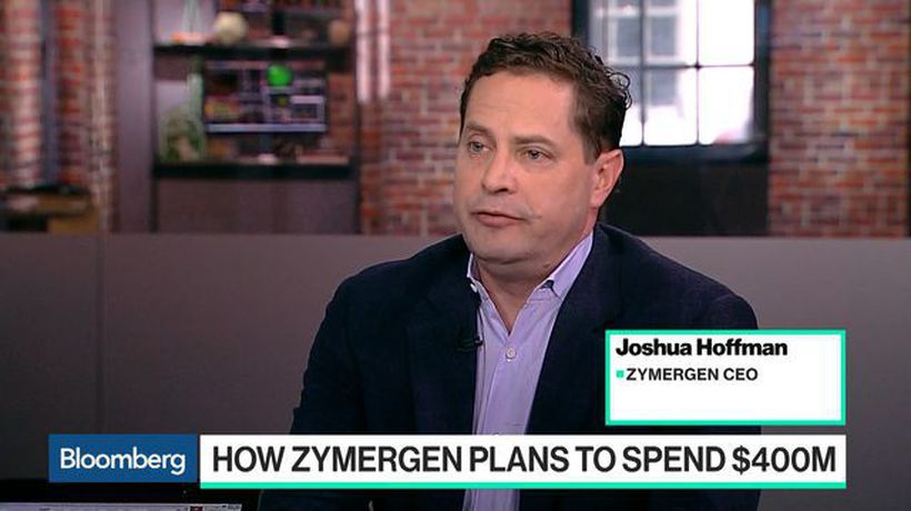 Bloomberg Technology - How Bio Startup Zymergen Plans to Spend $400M