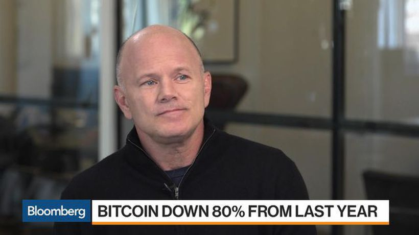 Bloomberg Markets - 'We Had a Bubble, It Popped,' Says Novogratz on the Crypto Collapse
