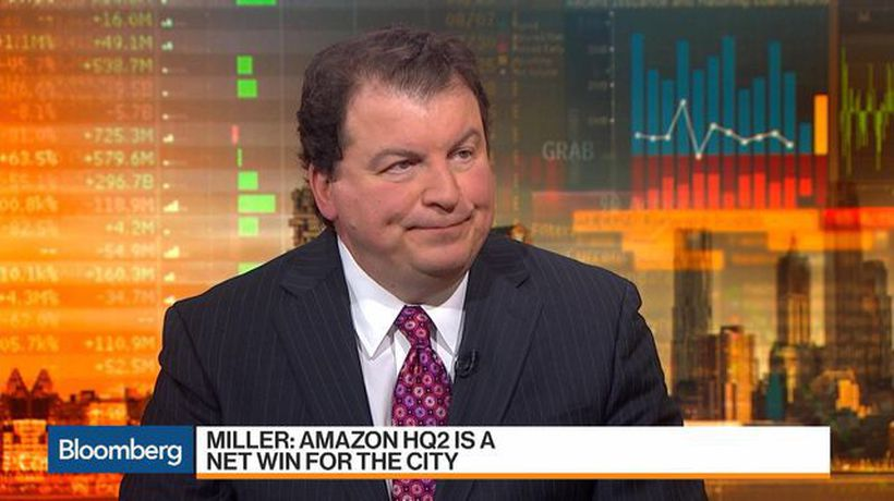 Bloomberg Markets - Amazon HQ2 'Bailed Out' Long Island City Investors, Miller Says