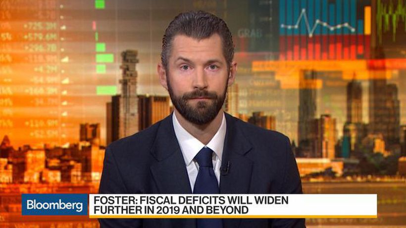 Bloomberg Daybreak: Australia - Moody's Foster Says U.S. Fiscal Strength to Decline Gradually