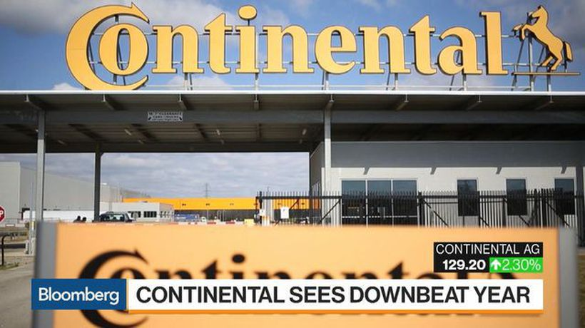 Bloomberg Markets - Continental AG Paints Bleak Picture of Global Auto Market