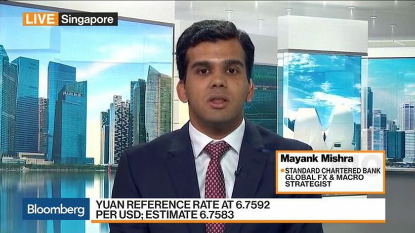 Bloomberg Markets: Asia - Yuan May Rise Further, Standard Chartered's Mishra Says