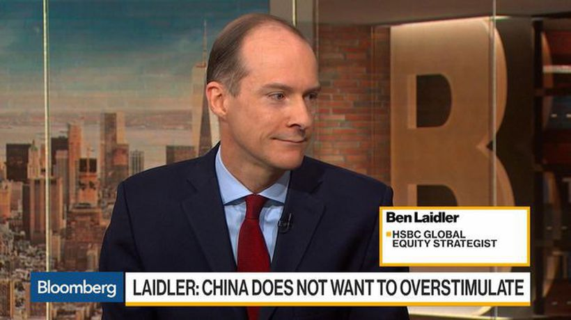Bloomberg Daybreak: Americas - China 'Gradually Stimulating' Economy, Says HSBC's Laidler