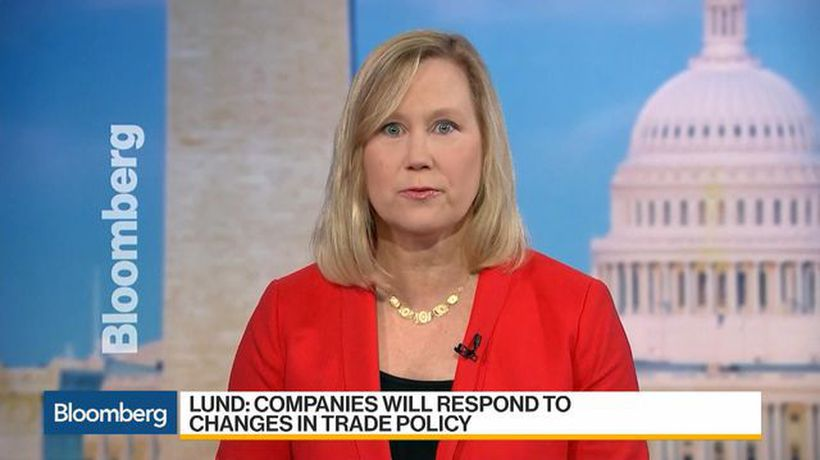 Bloomberg Daybreak: Americas - Lund Says Companies Will Respond to Changes in Trade Policy