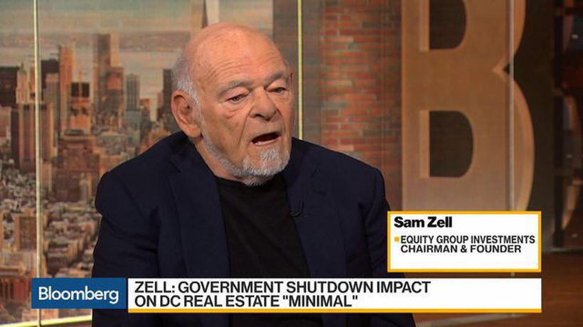 Bloomberg Daybreak: Americas - Zell Sees 'Minimal' DC Real Estate Impact From Shutdown