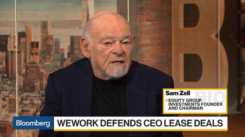 Bloomberg Daybreak: Americas - Zell Calls WeWork a Negative Example of Creating Unicorns