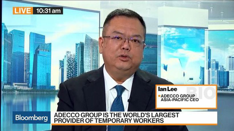 Bloomberg Markets: Asia - Adecco's Lee Is Cautiously Optimistic on Asia's Labor Market