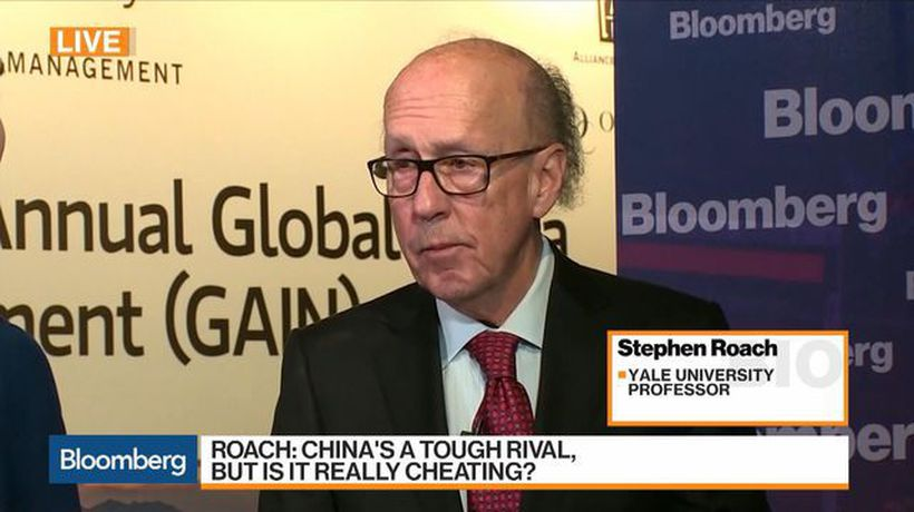 Bloomberg Markets: Asia - Roach Says U.S. and China May Reach 'Cosmetic' Deal at Best