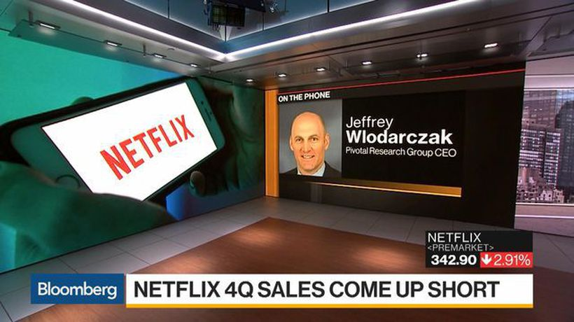 Bloomberg Daybreak: Americas - Wlodarczak Says Full-Speed-Ahead for Netflix Right Now