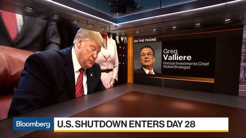 Bloomberg Daybreak: Americas - Valliere Says Government Shutdown Exchanges Are Increasingly Childish, Petty