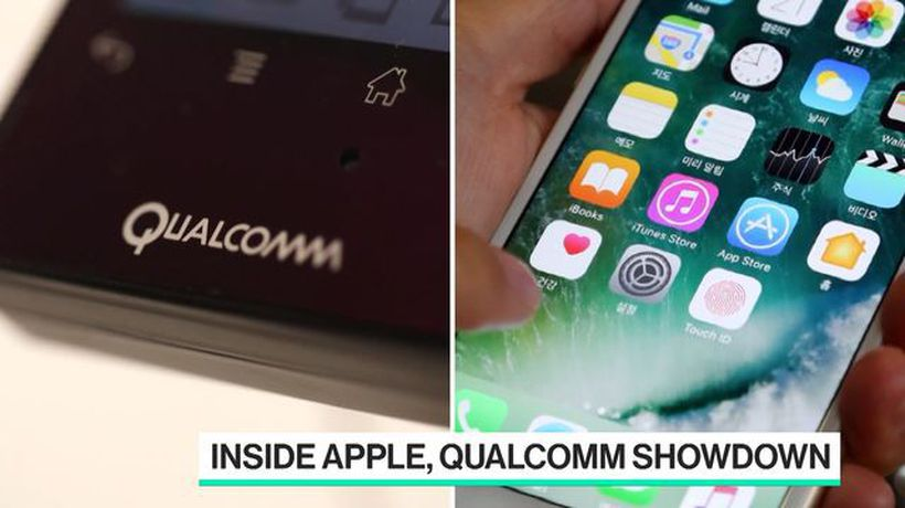 Bloomberg Technology - Software Was Sticking Point in Apple-Qualcomm Spat, Executive Emails Suggest