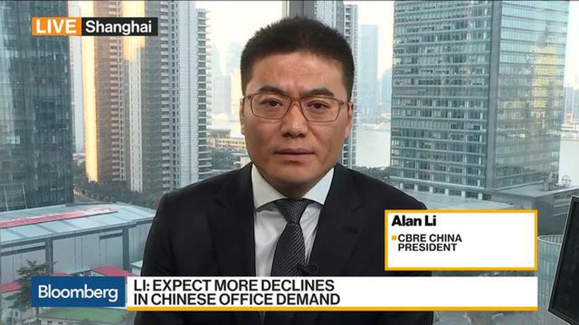 Bloomberg Daybreak: Asia - CBRE Sees 'Soft Decline' in China's Commercial Real Estate Demand
