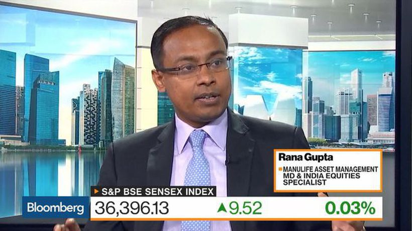 Bloomberg Markets: Asia - 'Quite Constructive' on Indian Stocks, Manulife Asset's Gupta Says