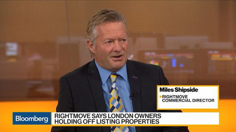 Bloomberg Daybreak: Europe - Brexit Could Spur U.K. Housing Market, Says Rightmove's Shipside