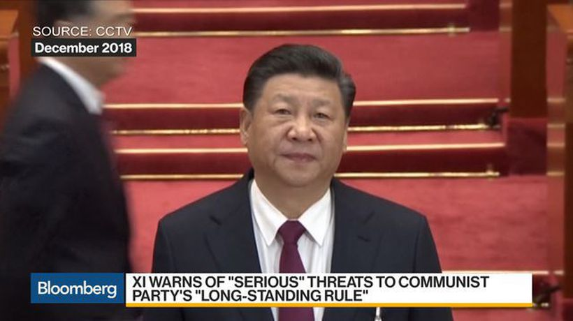 Bloomberg Daybreak: Australia - China's Xi Warns Party of `Serious Dangers'