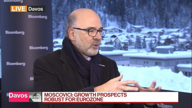 Bloomberg Daybreak: Europe - Moscovici: Growth Prospects Robust for Euro Zone