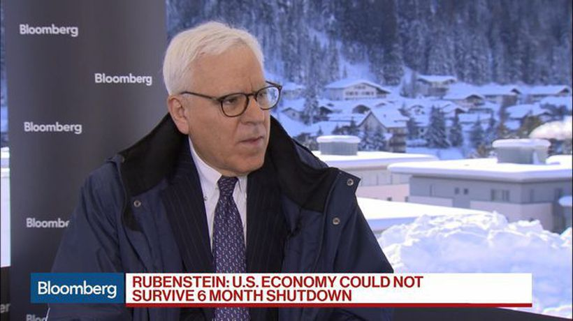 Bloomberg Surveillance - Carlyle's Rubenstein Sees Slower Growth in U.S., China in 2019