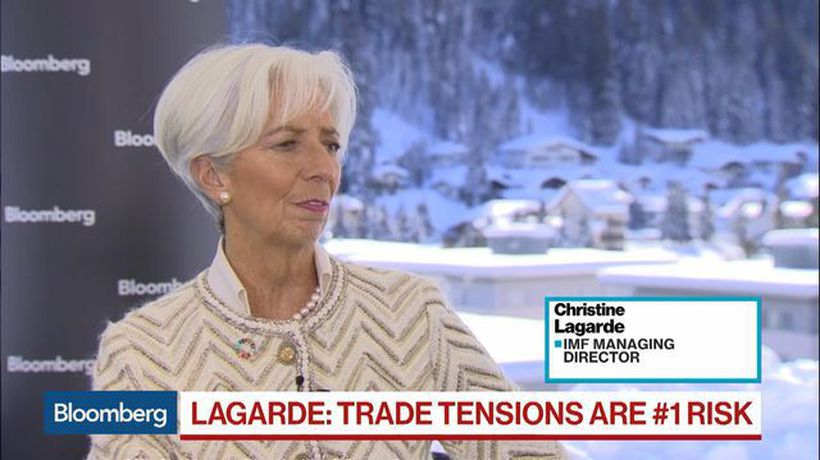 Bloomberg Surveillance - IMF's Lagarde Does Not See a Global Recession