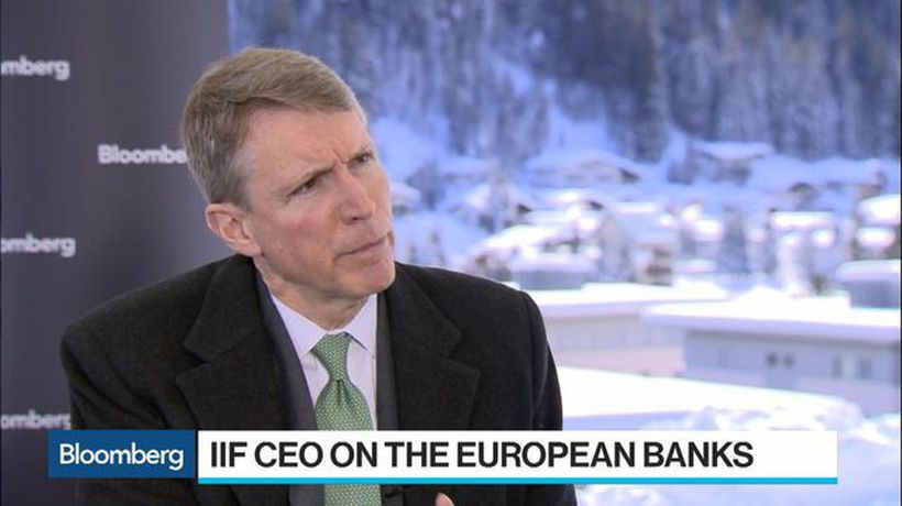 Bloomberg Surveillance - IIF CEO Sees a Need for Some European Bank Consolidation