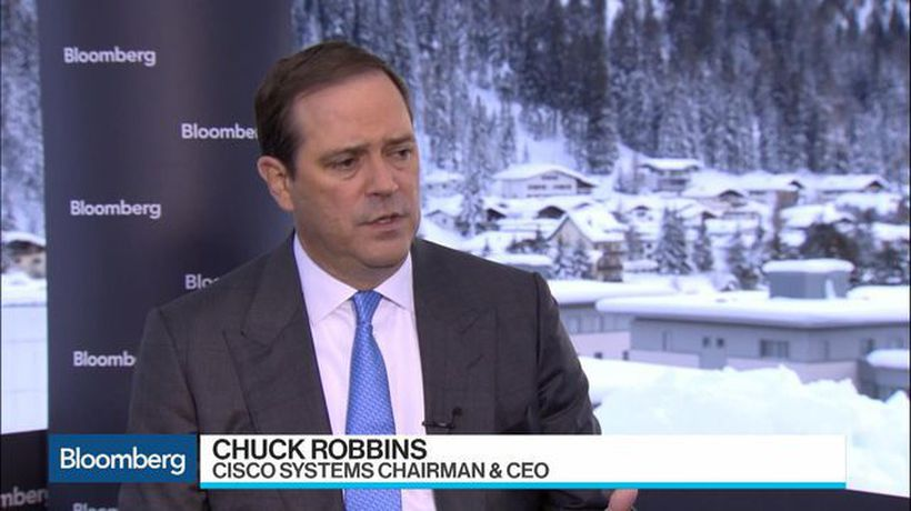Bloomberg Surveillance - Cisco CEO Robbins Sees 'High Degree of Optimism' Among CEOs