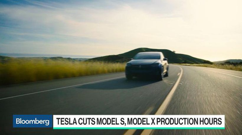 Bloomberg Technology - Tesla Reduces Model S and Model X Production