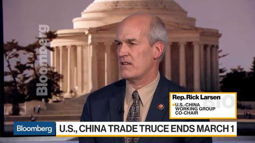 Bloomberg Daybreak: Asia - Rep. Larsen Says Outcome of U.S.-China Talks 'Critical' for Economic Health