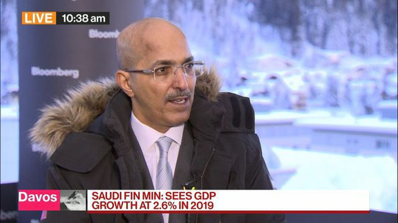 Bloomberg Surveillance - Saudi Finance Minister Expects 2.6% GDP Growth in 2019