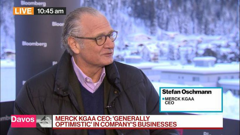 Bloomberg Surveillance - Merck KGaA CEO Sees 'Zero' Chance of Selling Liquid Crystals Business