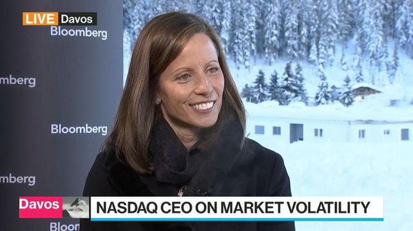 Bloomberg Surveillance - Nasdaq CEO Says IPO Applications Up, But Restricted by Shutdown