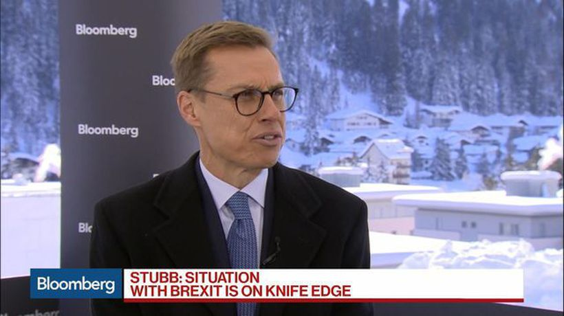 Bloomberg Surveillance - Brexit Situation Is on a Knife-Edge, EIB's Stubb Says