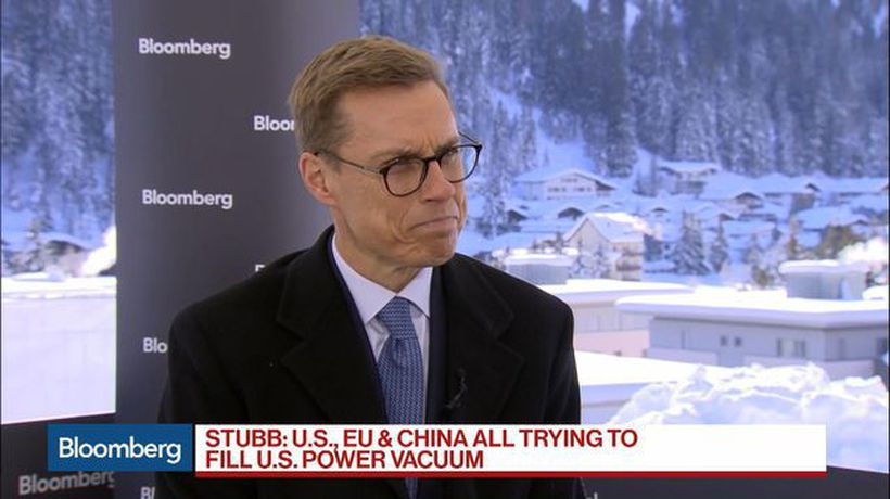 Bloomberg Surveillance - EIB's Stubb Sees EU, China Trying to Fill U.S. Power Vacuum