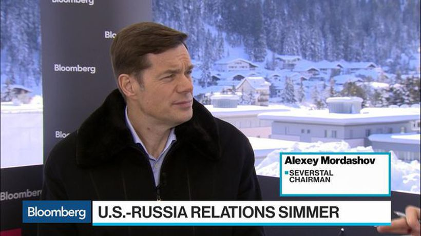 Bloomberg Surveillance - Severstal's Mordashov on Sanctions, Waiting to List Nordgold