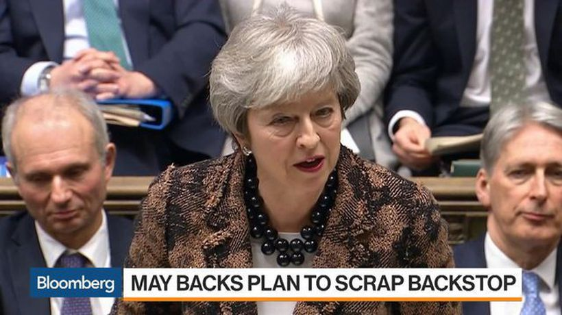 Bloomberg Markets: Asia - May Backs Plan to Scrap Backstop