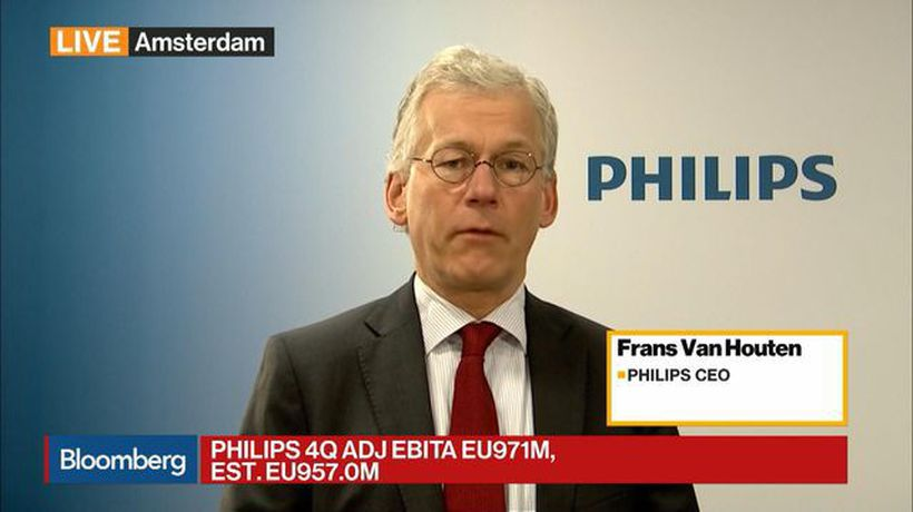 Bloomberg Daybreak: Europe - Philips CEO on 4Q Earnings, China, Dividend, Brexit