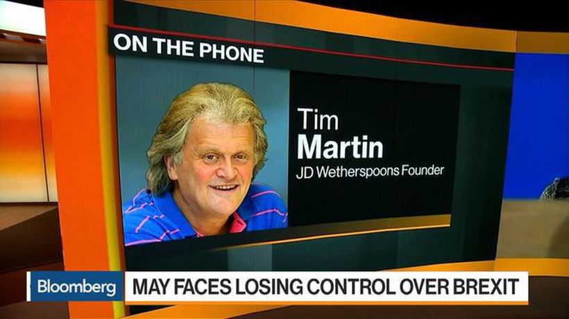 Bloomberg Markets: European Open - Food Prices Can Drop Post Brexit, Says JD Wetherspoon's Martin