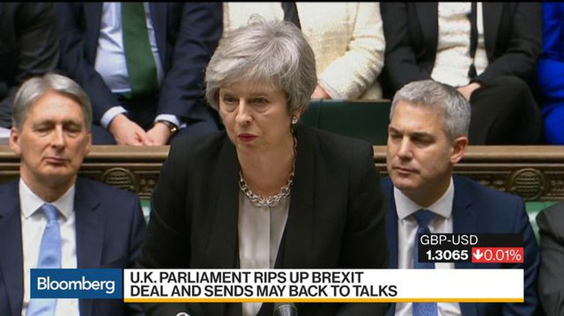 Bloomberg Daybreak: Australia - U.K. Parliament Rips Up Brexit Deal, Sends May Back to Talks