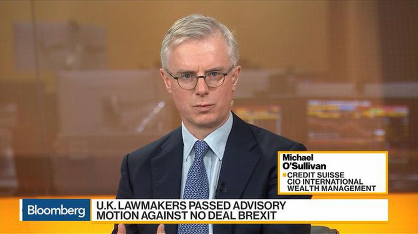 Bloomberg Daybreak: Europe - Credit Suisse's O'Sullivan Has a Positive View on the Pound Versus the Dollar