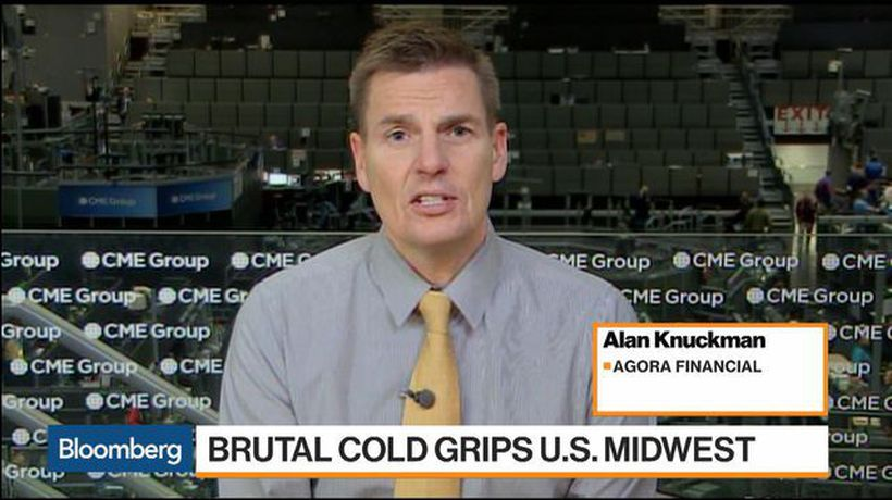 Bloomberg Markets - Natural Gas Slides as Brutal Cold Grips U.S. Midwest