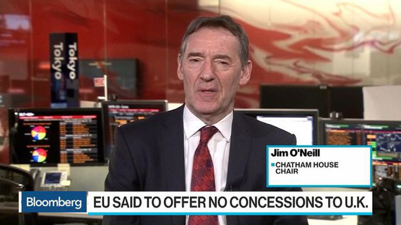 Bloomberg Surveillance - Jim O'Neill Sees 60% Chance for 'Some Derivative' of May's Brexit Deal