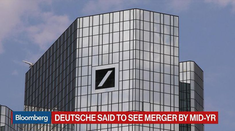 Bloomberg Surveillance - Deutsche Bank Said to Prep for Potential Merger by Mid-Year