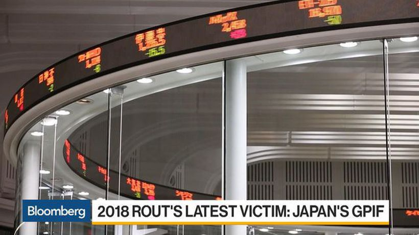 Bloomberg Daybreak: Asia - World's Largest Pension Fund Is 2018 Rout's Latest Victim