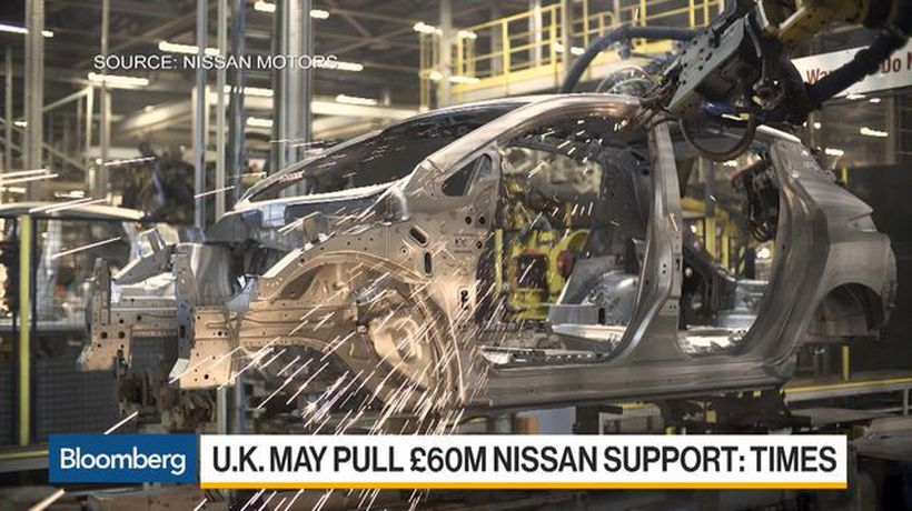 Bloomberg Daybreak: Europe - Nissan Deals Brexit Blow as May Starts Work on Plan B