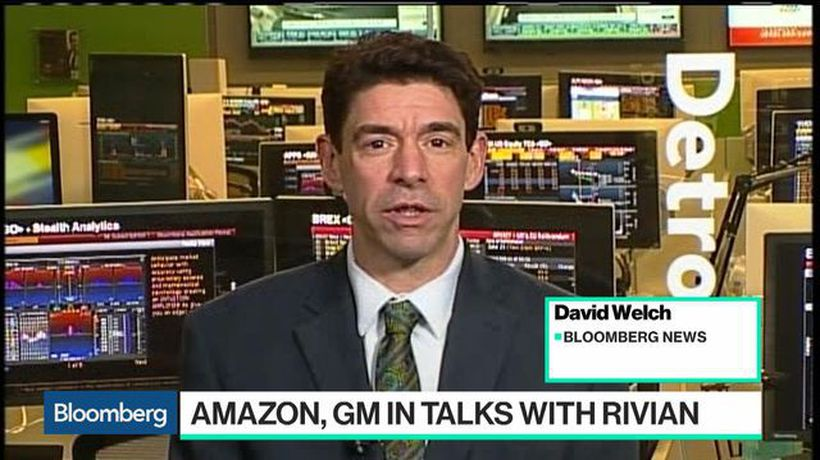 Bloomberg Technology - Why Amazon and GM Might Make a Bet on Electric Truckmaker Rivian