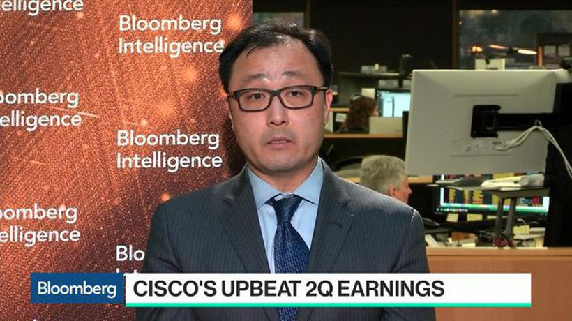 Bloomberg Technology - Breaking Down Cisco's Upbeat 2nd-Qtr Earnings